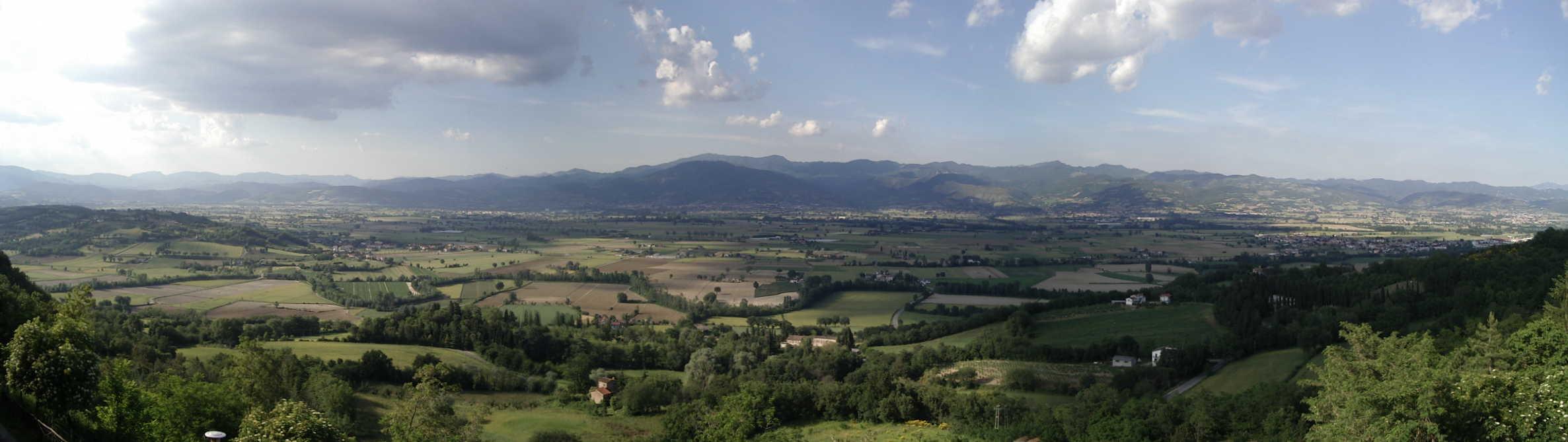 escursioni in Alta Valle del Tevere con guida turistica
